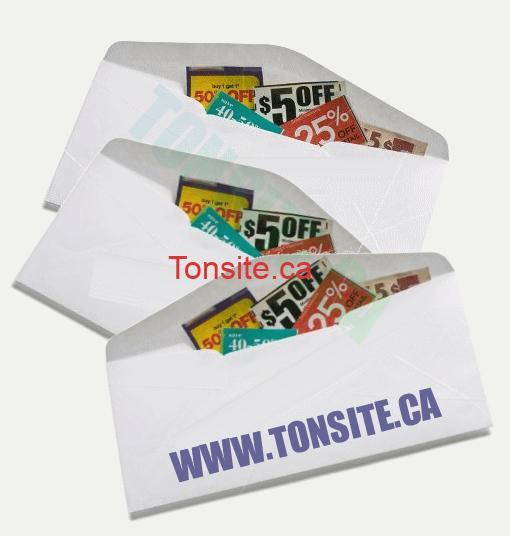 ENVEL - Concours 26: Partagez et gagnez une enveloppe de coupons (valeur de 50$)!