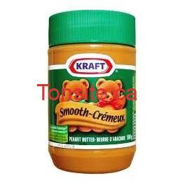 beurre d arachide kraft 500g1 - Beurre d'arachide Kraft (1kg) à 1,97$ après coupon!