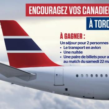 canadiens toronto 350x350 - Concours Journal de Montréal: Gagnez un voyage à Toronto pour assister au match des Canadiens!