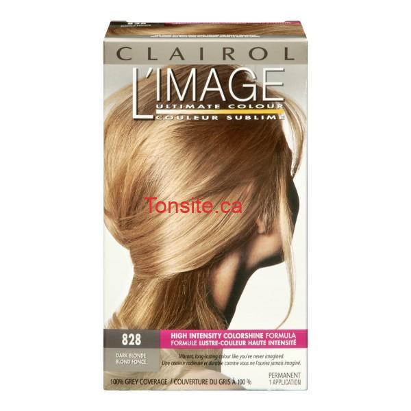 clairol limage 828 dark blonde 600x600 - Colorant capillaire Clairol L'image à 3.99$ après coupon!