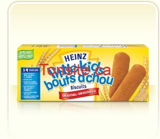 litlekids - Biscuits pour bébé Bouts d'chou de Heinz à 1$ après coupon!