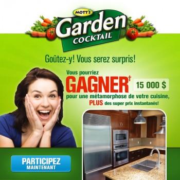 motts 350x350 - Concours Mott's Garden Cocktail: Gagnez une cuisine Makeover (valeur de 15000$) ou 1 de 400 prix instantanés!
