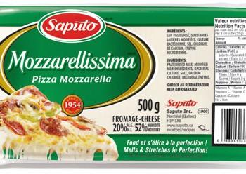 mozzarellisima 350x248 - Barre de fromage Saputo Mozarellissima (500g) à 4,02$ après coupon!
