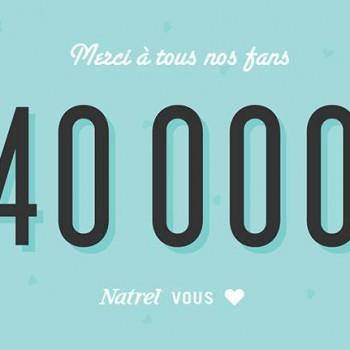 natrel 40000 350x350 - Concours Natrel: Gagnez un ensemble cadeau Natrel!