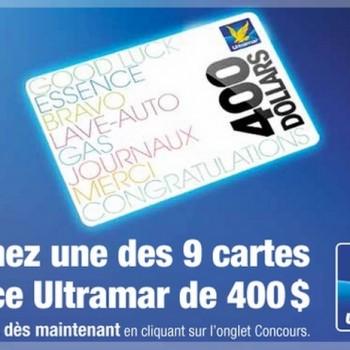 pom concours 350x350 - Concours POM: Gagnez une des 9 cartes d'essence Ultramar de 400$!