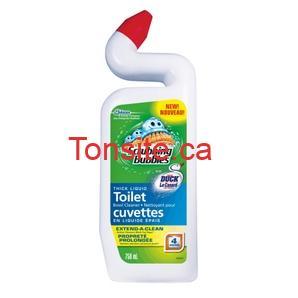 scrubbing bubbles toilet - Nettoyant pour cuvettes Scrubbing Bubbles à 79¢ après coupon!