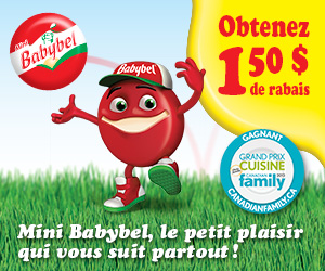 243 img droite fr - Coupon rabais de 1.50$ sur n'importe quel produit Mini Babybel!