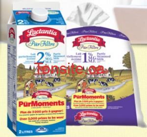 Lactantia 300x280 - Nouveau coupon rabais de 1$ sur le lait Lactantia PureFilte 2 ou 4L!!