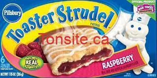 Pillsbury Toaster Strude - Coupon rabais de 1$ sur les produits Pillsbury Toaster Strudel!