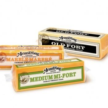 amstrong 350x350 - Coupon rabais de 1 $ sur les fromages Armstrong de format 210 g et plus