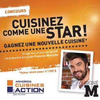 armoires cuisine action 350x350 - Concours Armoires Cuisine Action: Gagnez une cuisine (valeur allant jusqu'à 7500$)!