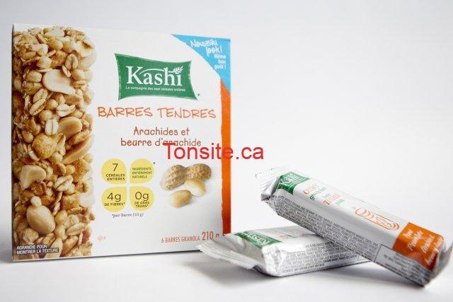 barre kashi - Barres tendres Kashi au granola à 1.50$ après coupon!