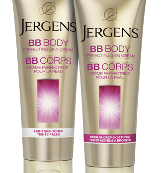 bb body 328x350 - Coupon rabais de 1$ sur la Crème Perfectrice Pour La Peau BB Corps de Jergens en format de 220 mL