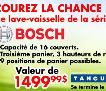 bosh 350x300 - Concours Ameublements Tanguay: Gagnez une Lave Vaisselle Bosh (Valeur de 1499,99$)!