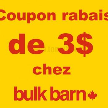 bulkbarn 3 350x350 - Bulk Barn: Coupon rabais de 3$ sur tout achat de 10$ ou plus