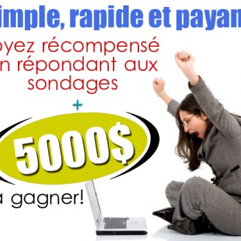 cafedopinion 350x350 - Café d'opinion: Gagnez 5000$ et Soyez récompensé en répondant aux sondages!