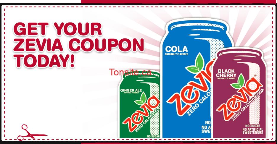 canadacoupon - Coupon rabais de 2$ sur les boissons Zevia!