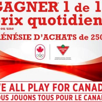 canadiantire concours1 350x350 - Concours Canadian Tire Jumpstart: Gagnez 1 de 17 prix quotidiens ou une carte-cadeau de 250$!