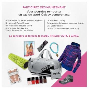 chictonic 350x350 - Concours Chic Tonic: Gagnez un magnifique sac de sport Oakley!