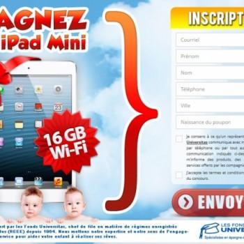 concours fonds uni 350x350 - Concours des Fonds Universitas: Gagnez un iPad mini pour célébrer l'arrivée de bébé!