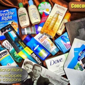 concours30 11 350x350 - Concours 30 : Gagnez 16 échantillons ou 1 des 5 enveloppes de coupons rabais (valeur de 50$/ch)!