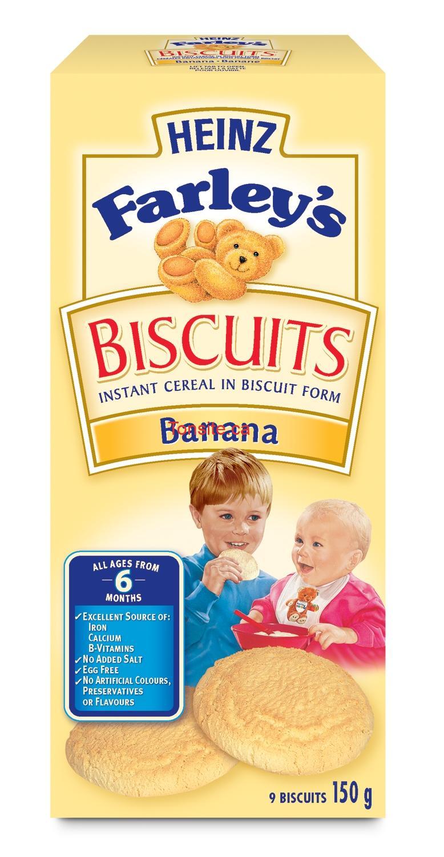 Photo of Biscuits pour bébé Farley's à 99¢ après coupon!