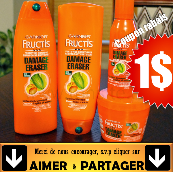 garnier damage eraser