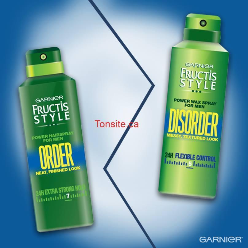 garnier order disorder1 - Concours Garnier: Gagnez un ensemble de produits Garnier Order/Disorder!