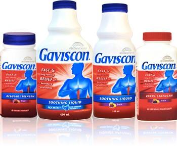 gaviscon products 350x289 - Coupon rabais de 1,50$ sur les produits de Gaviscon!