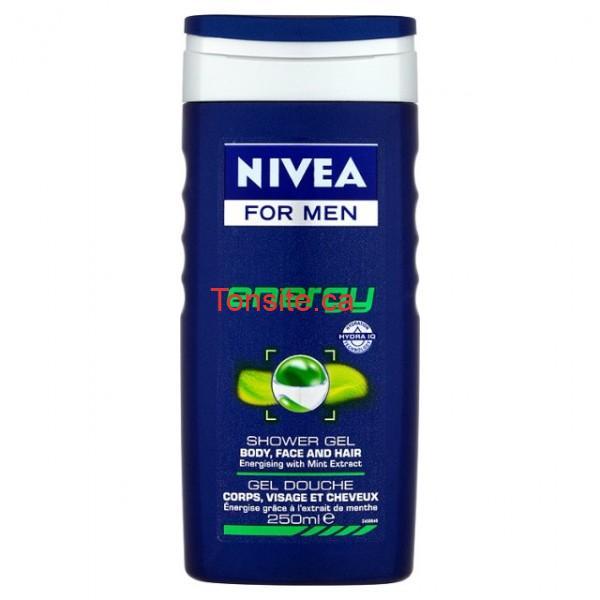 gel douche shampooing visage corps cheveux enerrgy nivea for men - Gel douche Nivea Men pour hommes à 1,97$ après coupon!