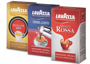 lavazza 350x250 - Coupon rabais de 1$ sur deux mélanges de café Lavazza (Qualita Oro, Crema & Gusto, Qualita Rossa)!