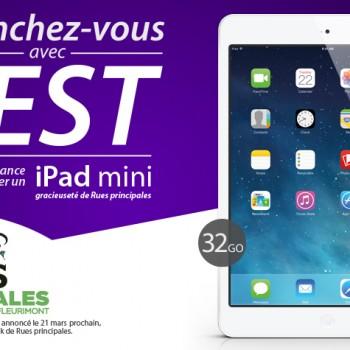 oserlest 350x350 - Concours OsezlEst: Gagnez un iPad mini 32 Go d'une valeur de 400.00 $ CAD!