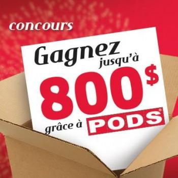 pods 350x350 - Concours Pods Québec: Gagnez jusqu'à 800$!