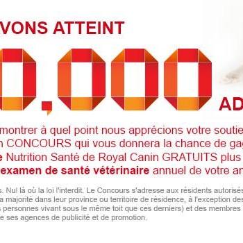 royalcanin 350x350 - Concours Royal Canin: Gagnez 1 des 12 sacs de nourriture Nutrition Santé+examen de santé vétérinaire annuel de votre animal!