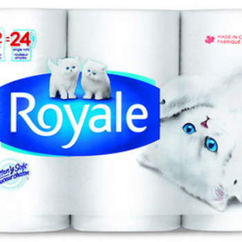 royale papier hygienique 12 rouleaux 350x350 - 12 rouleaux doubles de papier hygiénique Royale à 3.49$!