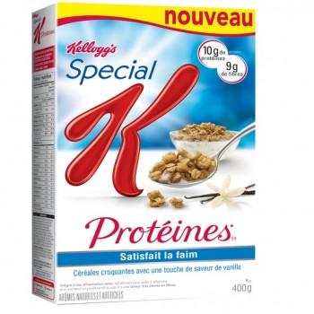 special k proteines 350x350 - Coupon rabais de 1,50$ sur une boîte de céréales Special K Protéines de 400g