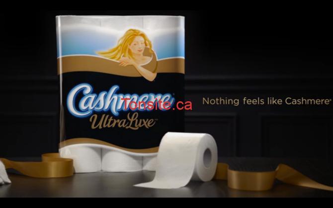 Cashmere - 12 rouleaux doubles de papier hygiénique Cashmere Ultra Luxe à 2,99$!