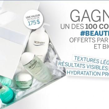 biotherm 350x350 - Concours Loulou Magazine: Gagnez 1 des 100 ensembles-cadeaux de produits Biotherm (valeur de 176$)!