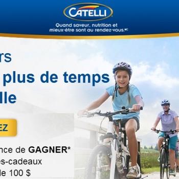 catelli concours 350x350 - Concours Catelli: Gagnez 1 des 10 cartes-cadeaux d'une valeur de 100$!