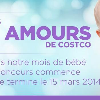 costco concours 350x350 - Concours Costco Canada: Gagnez 1 des 14 prix quotidiens pour votre bébé!