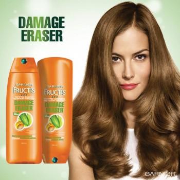 damage eraser 350x350 - Concours Garnier Canada: Gagnez un shampoing et un conditionner Damage Eraser!