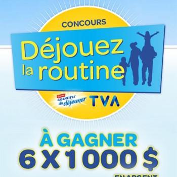 essentiels du déjeuner 350x350 - Concours Nestlé Canada et TVA: Gagnez 1 des 6 chèques de 1000$ + coupon rabais de 2$ sur Essentiels du Déjeuner Carnation!