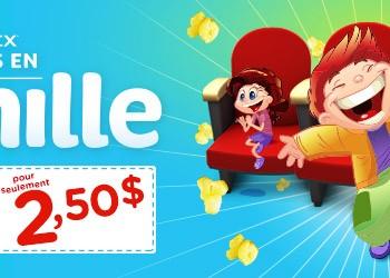 familyfavourites 350x250 - Cineplex: regardez vos films préférés à 2,50$ seulement!