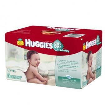huggies1 350x350 - 504 débarbouillettes rafraîchissantes Huggies One & Done à 9,97$ au lieu de 16,87$ + livraison gratuite!