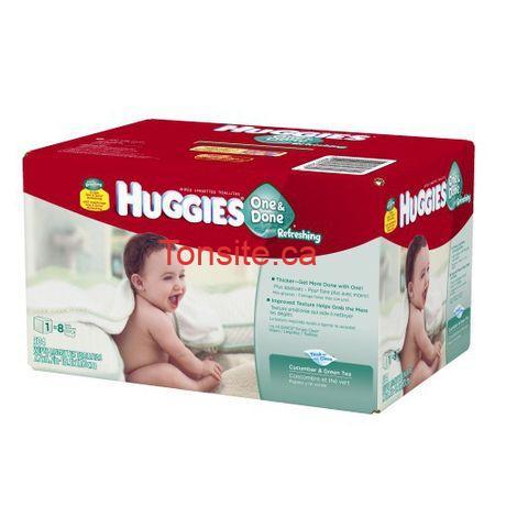 huggies1 - 504 débarbouillettes rafraîchissantes Huggies One & Done à 9,97$ au lieu de 16,87$ + livraison gratuite!