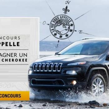jeep cherokee 350x350 - Concours Chrysler Canada: Gagnez le tout nouveau Jeep Cherokee 2014!