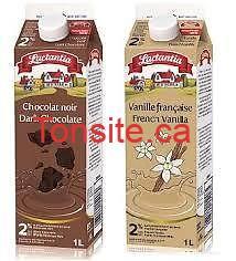 lactantia 2l - Lait au chocolat ou à la vanille Lactantia à 99¢ après coupon!