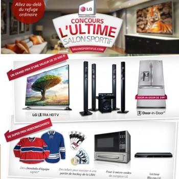 lg concours 350x350 - Concours LG: Gagnez l'ultime Salon Sportif LG (Valeur de 20.000$)!