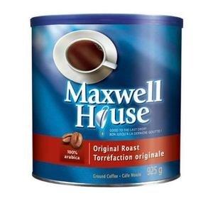 maxwell house - Café Maxwell Housse (925g) à 5,97$ après coupon!