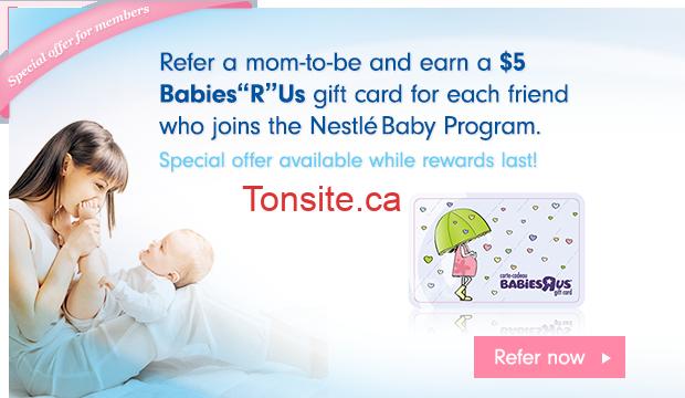 nestle card - Bébé Nestlé : Obtenez des cartes-cadeaux GRATUITES Babies R Us/ Toys R Us!